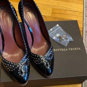 Bottega Veneta Vernis Platform Patent Leather